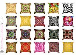 Stoff Selbst Gestalten : kissen selber gestalten im eigenen stil den lieblingsfarben passend zu vorh ngen co mit www ~ Eleganceandgraceweddings.com Haus und Dekorationen