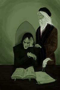 Snape and Dumbledore by Observateur on DeviantArt