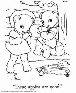 Teddy Bear Coloring Pages Free Printable Boy And Girl