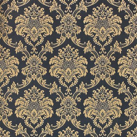 european style luxury gold  wallpaper classic