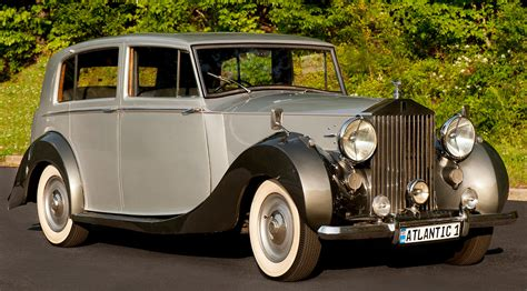 rolls royce classic limo classic rolls royce 1947 silver wraith atlantic limousine