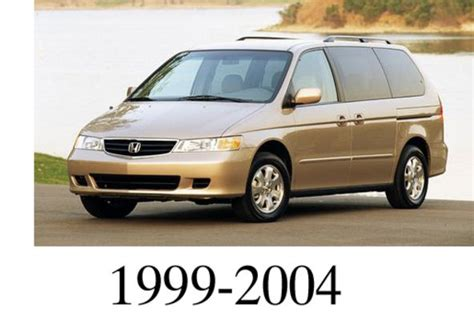 car repair manuals download 1999 honda odyssey parking system honda odyssey 1999 2004 factory service repair manual honda workshop service repair manuals