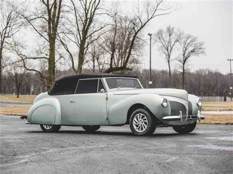 1939 To 1941 Lincoln Continental For Sale On Classiccars.com