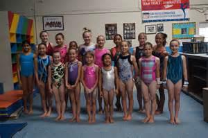 Girls Gymnastics Team