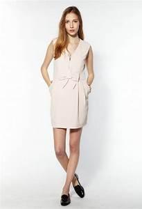 robe rose poudr escarpins nude ides de tenues de With robe invitée mariage avec bijoux femme mariage