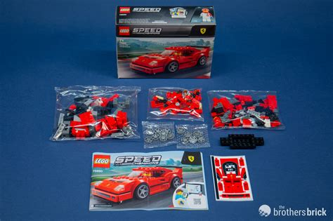 Buy lego speed champions ferrari fxx k & development center 75882 online or in store at mr toys. LEGO Speed Champions 75890 Ferrari F40 Competizione-5 | The Brothers Brick | The Brothers Brick