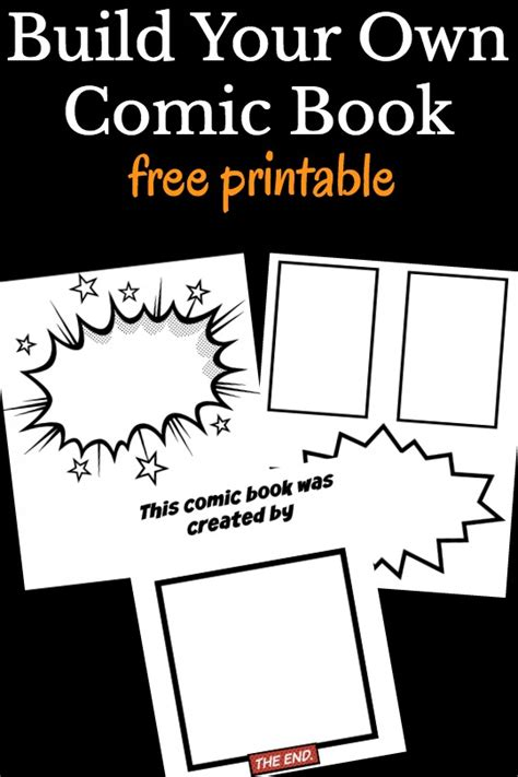 make your own comic template cool comic book templates for