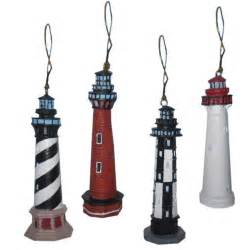 lighthouse ornament 3 quot set of 4