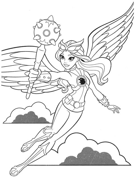 dc superhero girls coloring pages  coloring pages  kids