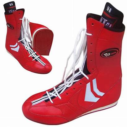 Boxing Boots Leather Sole Rubber Weight