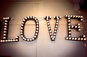 diy wedding decor marquee lights brittanymakes With diy letter lights