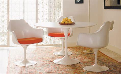kitchen dining furniture saarinen dining table white laminate hivemodern com
