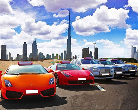 Drive Super Luxury Cars On Dubai Roads 'virtually' Free