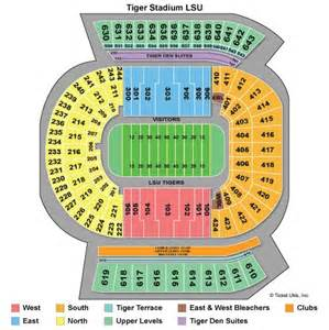 LSU Tiger Stadium Seating Chart