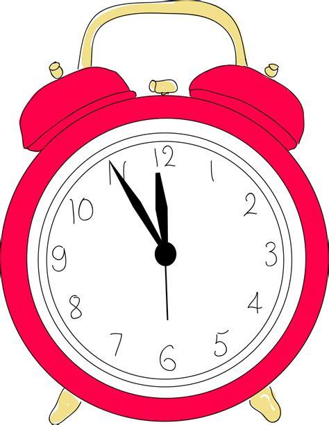 Clipart Clock Wecker Clipart Kostenloses Stock Bild Domain Pictures
