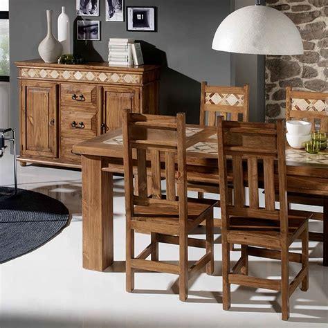 mesa de comedor rectangular fija mejicanael tavolino