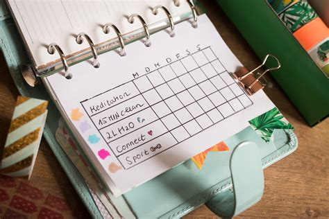 filofax selbst gestalten plan with me filofax bullet journal tea twigs