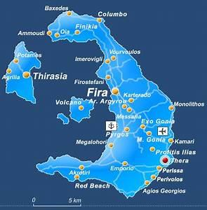 Ancient Thera in Santorini island - Greeka.com