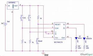 T Flip Flop Circuit Diagram  Truth Table  U0026 Working Explained