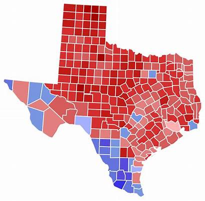 Texas Election Results County Senate Svg States