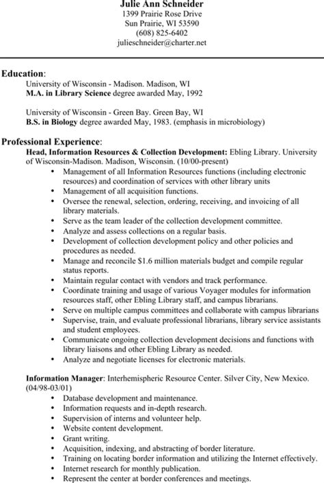 Html Version Of My Resume by Librarian Resume Templates For Excel Pdf And Word