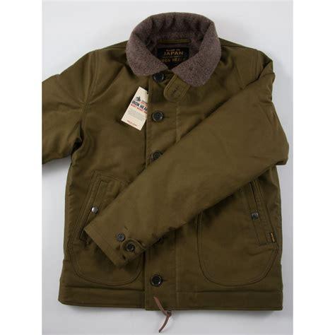n1 deck jacket uk ihm 04 iron whipcord n1 deck jacket olive navy
