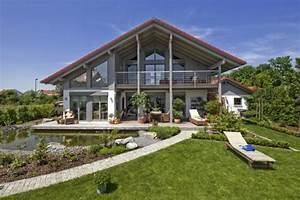 Casa, In, Legno, Modello, Casa, Landshut, Di, Design, Haus, Italia