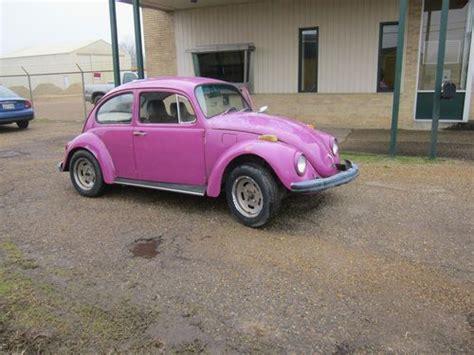 find   volkswagon beetle    good fixer