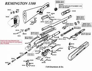 1100 Remington Shotgun Spares By Make Shotgun Spares