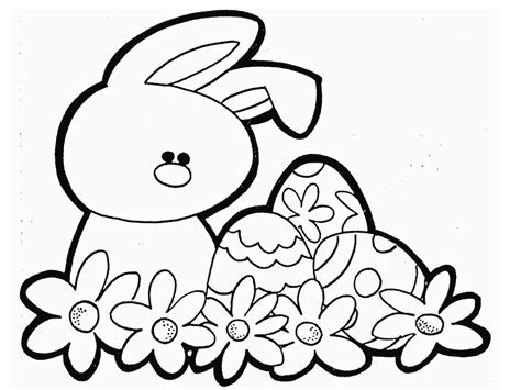 easter cartoon az coloring pages