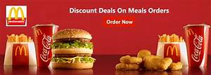 McDonald's Coupons And Offers On Online Burger Orders