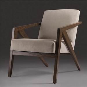 Fauteuil bois et cuir design idees de decoration for Fauteuil design bois et cuir