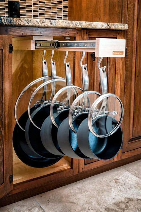 clever ideas  store pots  pans