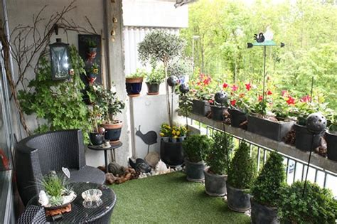 decoration balcon en attendant le printemps