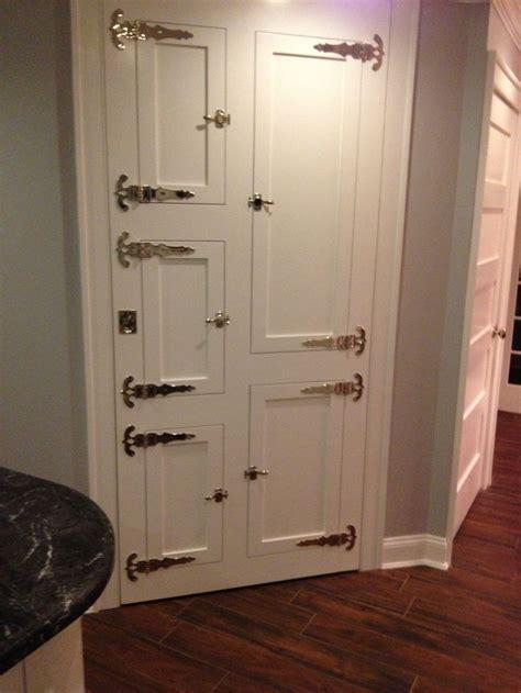 pantry door lock customer requested custom pantry door with an quot antique