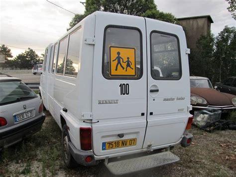 renault master minibus used renault master minibus tcp 19 places diesel n 601352