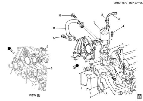 1996 Cadillac Concour Engine Diagram by 12553582 Cadillac Pipe Emission System Wholesale Gm