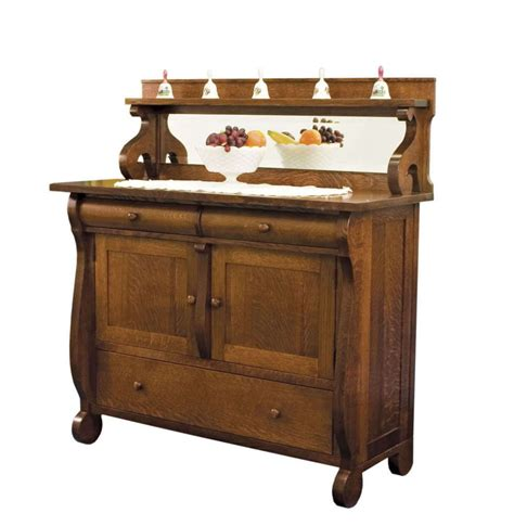 Kitchen Drawer Storage Ideas - amish dining room sideboards buffet storage cabinet wood antique reproduction ebay