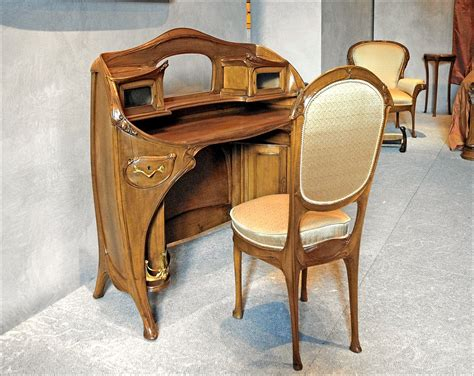 Furniture : Art Nouveau Furniture-wikipedia