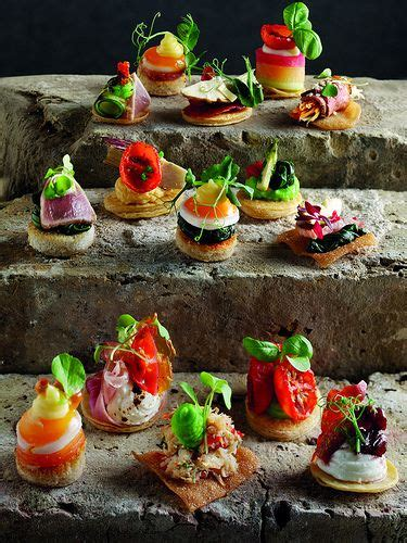canapes ideas canapes idee per la presentazione nei buffet finger
