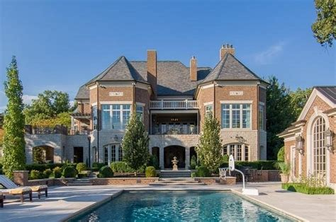 $45 Million 19,000 Square Foot Stone & Brick Mansion In