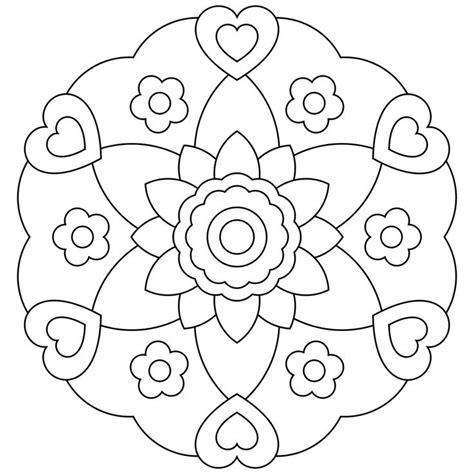 mandala coloring pages  kids coloring pages
