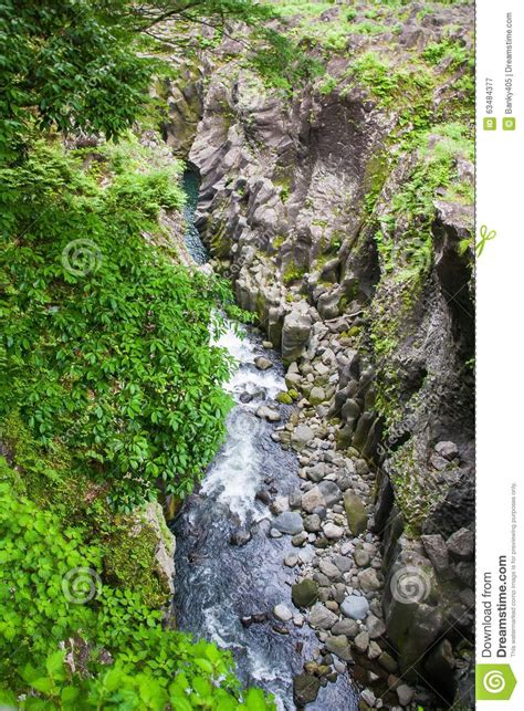 Takachiho Gorge Stock Image Image Of Nature Outdoor