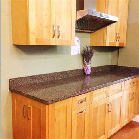 White Cabinets With Black Hardware by E3 Kitchen Amp Interior Honey Maple Shaker