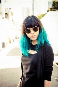 106 best images about Dyed Hair: tip or dip dye on ...