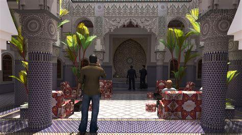 moroccan riad  traditional arabic architecture