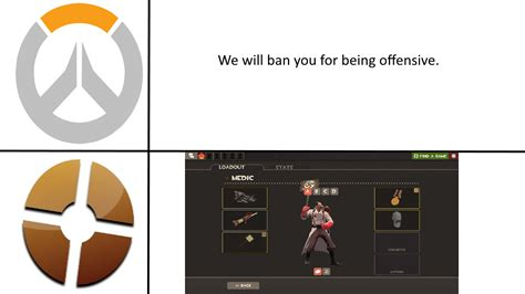 I see we're making TF2 vs Overwatch memes. : tf2