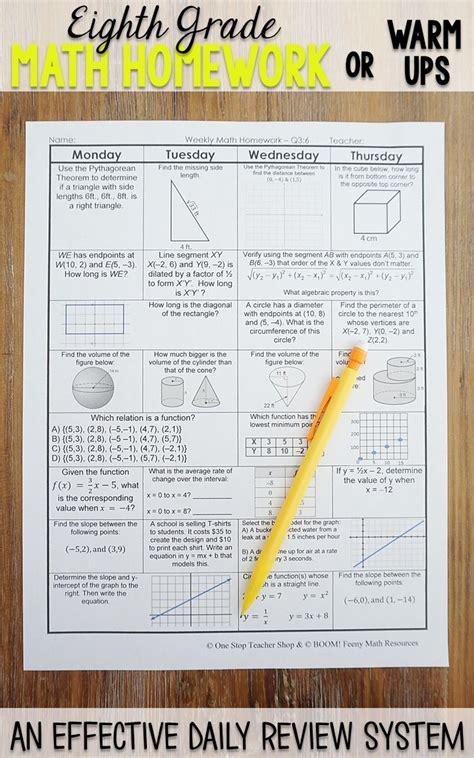 grade math spiral review quizzes  grade math