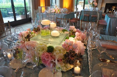 Floating Wedding Candle Centerpieces