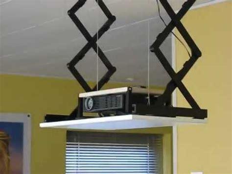 diy projector lift youtube